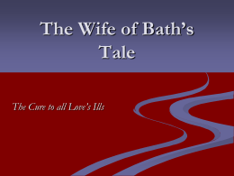 The Wife of Bath`s Tale