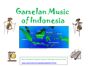 Gamelan Music - PBS Music Department!