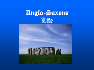 Anglo-Saxons - Riverdale High School