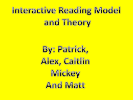 Interactive Theory