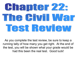 Chapter 22 test review samples