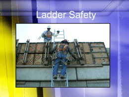 Ladder Safety - Murray State University