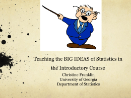 Slides - Department of Statistics