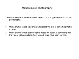 motion examples for photo
