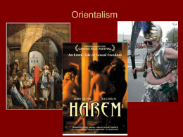 Orientalism - The Middlebury Blog Network