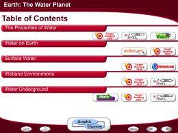 EarthTheWaterPlanet