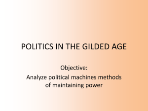 Political Machines PPT