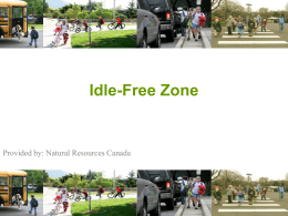 1 Provided by: Natural Resources Canada Idle