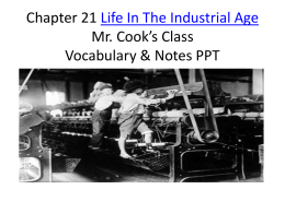 Ch 21 The Second Industrial Revolution PPT