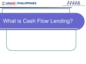 What is Cash Flow Lending?