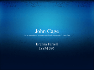 John_Cage - The Integrated Studies of an Integrated Mind