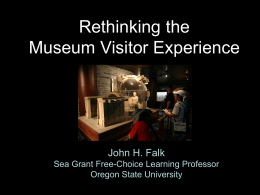 Understanding Learning in and from Museums
