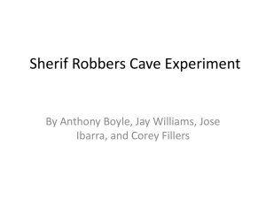 Sherif Robbers Cave Experiment p4