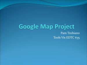Google Map Project
