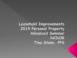 Stone - Leasehold Improvements