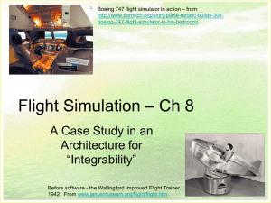 Flight Simulation – Ch 8 - Rose