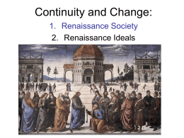 Continuity and Change:
