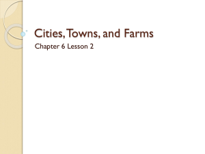 Cities, Towns, and Farms - Orland School District 135