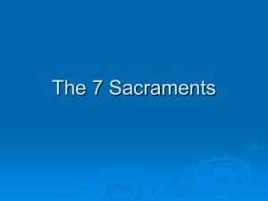 The 7 Sacraments