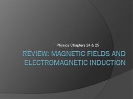 Magnetism Review