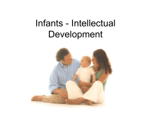 Infants - Intellectual Development