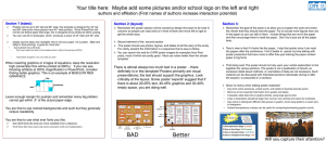 example powerpoint poster template.