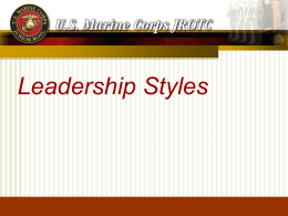 Delegative Leadership Style