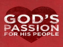 God`s Passion ppt