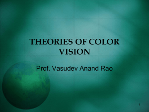Theory of color vision