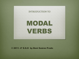 modal verbs ppt. - IES José Cadalso