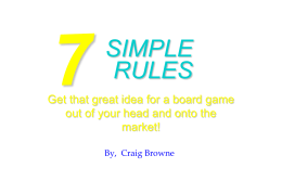 7 simple steps (ppt - Relatively Creative
