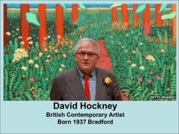 David Hockney powerpoint