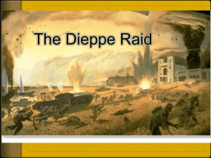 The Raid on Dieppe