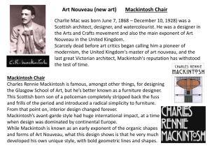 Mackintosh Chair