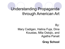 Understanding Propaganda through American Art