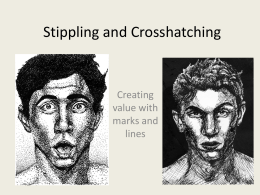 Stippling and Crosshatching Powerpoint