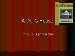 A Doll S House Final Essay Prompts 1 Nora In Ibsen S A Doll S