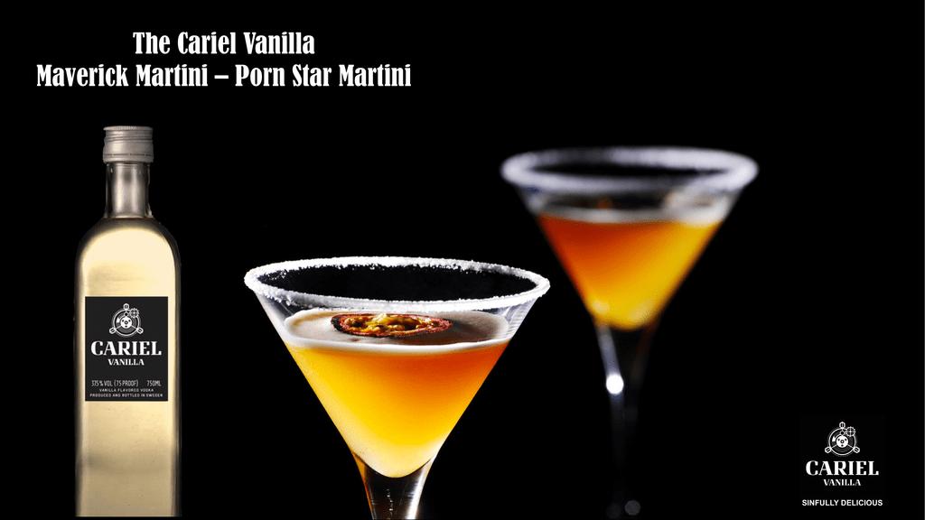Cariel Vanilla Pornstar Martini Recipe