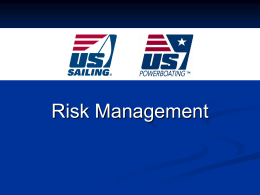 Risk management for instructor courses