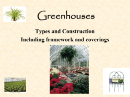 Greenhouses - An Int.. - Montgomery County Public Schools