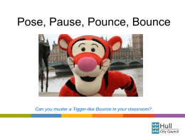 PPPB (Pose, Pause, Pounce, Bounce)