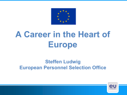Careers in the EU – EPSO