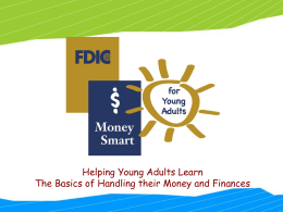 MONEY SMART FOR YOUNG ADULTS