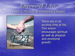 Empowered2Act_Lesson.. - Christian Life Resources