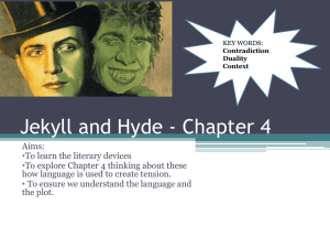 Jekyll and Hyde - Chapter 1