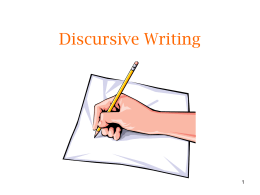Discursive_Writing_Exam_Preparation