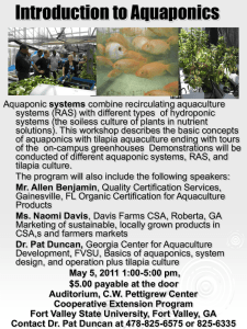 Introduction to Aquaponics
