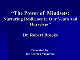 The Power of Mindsets Presentation