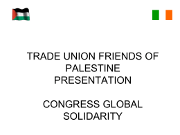 trade union friends of palestine