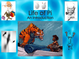 Life of Pi: Freud and Jung - Grand Erie District School Board